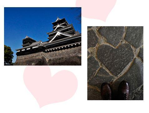 熊本城_ハート