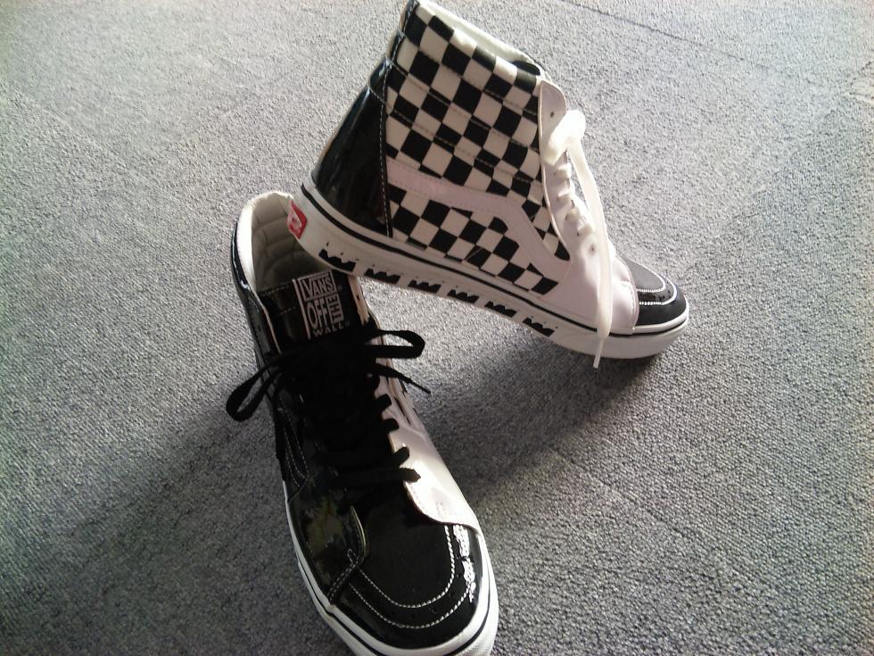黒と白のバランスがかわいいのです。