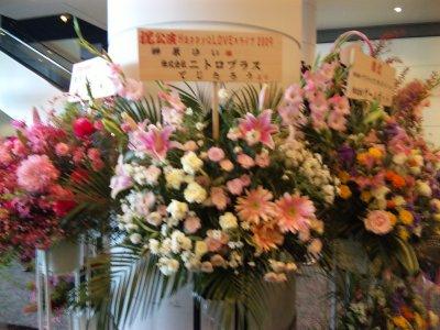 ニトロプラス様からのお花