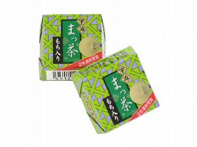 チロルチョコ--宇治まっ茶。