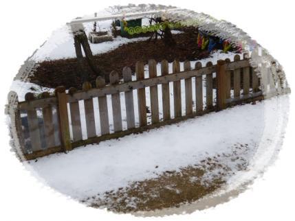 ちょっとだけ、雪景色!!