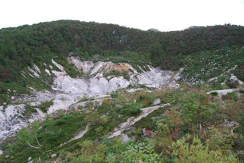 硫黄鉱山跡1