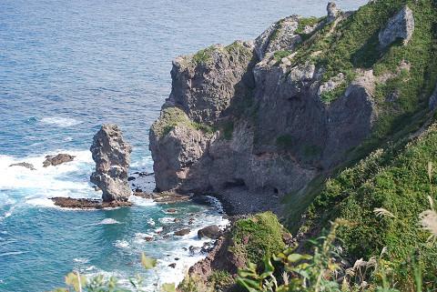 断崖の地形