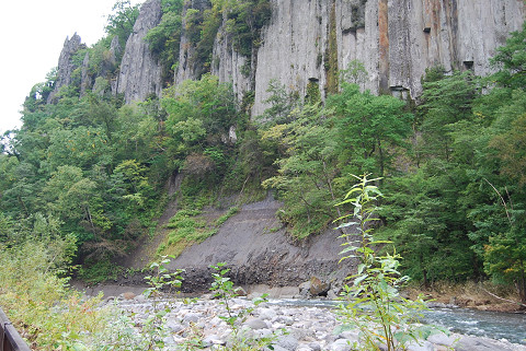 溶結凝灰岩層理