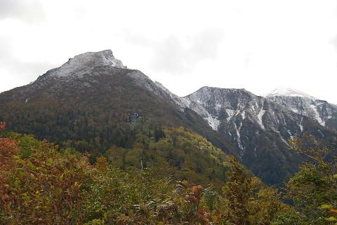紅葉の黒岳