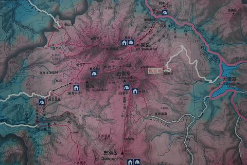 国立公園地形図