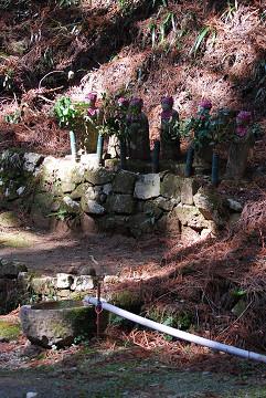 甘泉寺の石仏