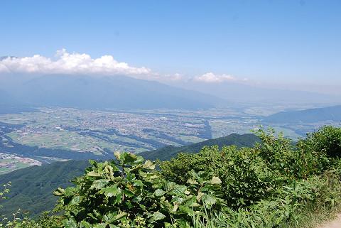 陣場形山からの景色1