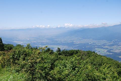 陣場形山からの景色2