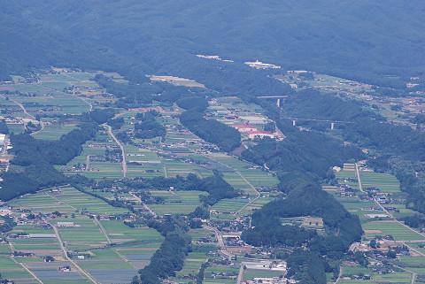 田切り地形