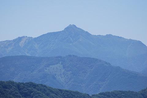 赤石山脈の山並み