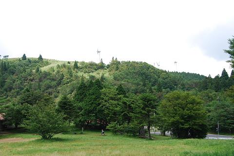 面ノ木峠の広場