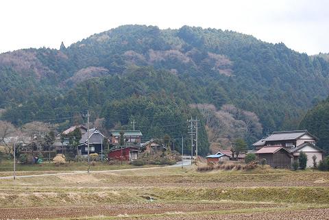 奥の集落の風景