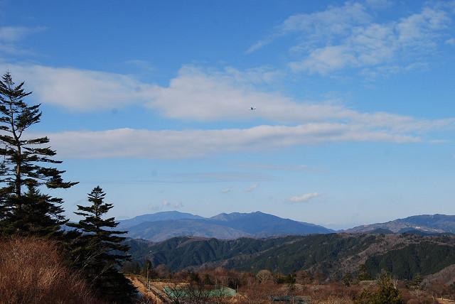 茶臼山から恵那山