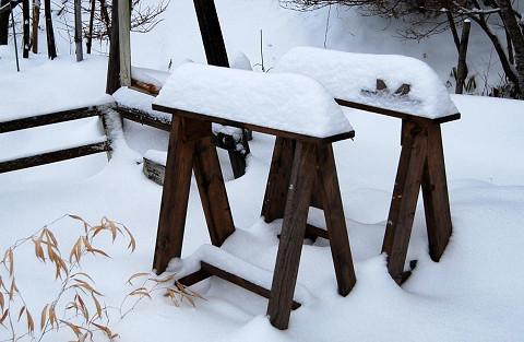 雪の造形4