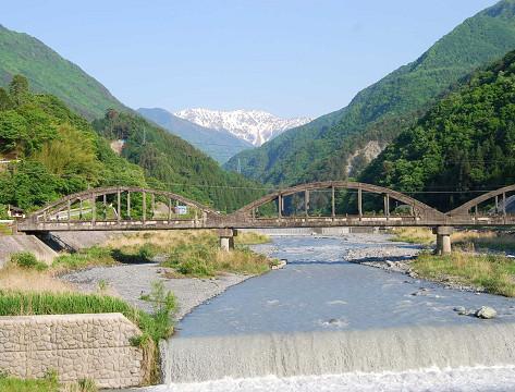 大鹿村から赤石岳