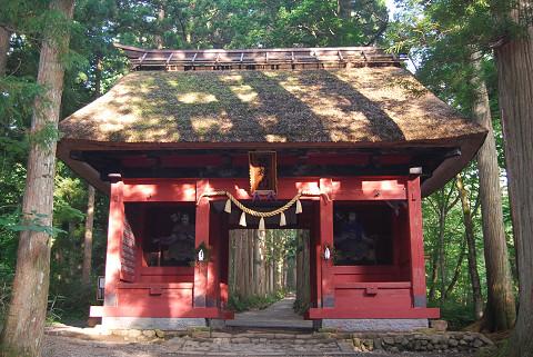 奥の院入り口の門