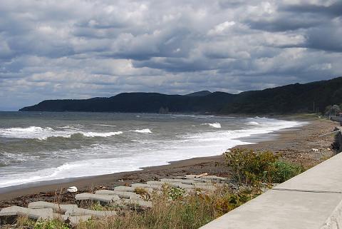 島牧の海岸1