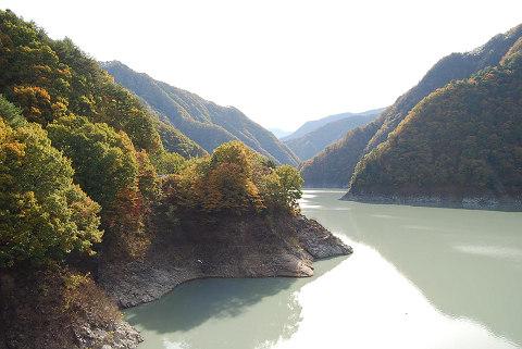 松川ダム湖