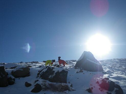 今季初の雪山 2009.12.08 4