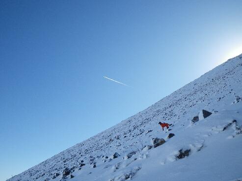 今季初の雪山 2009.12.08 5