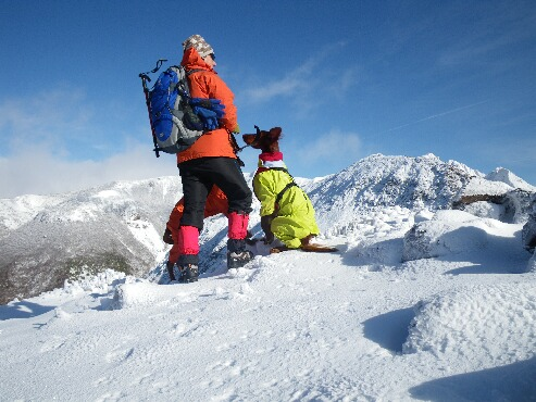 今季初の雪山 2009.12.08 0