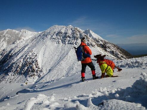 今季初の雪山 2009.12.08 1