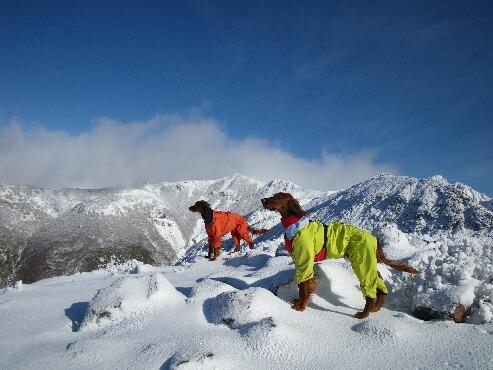 今季初の雪山 2009.12.08 7