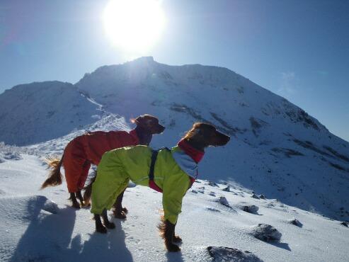 今季初の雪山 2009.12.08 8