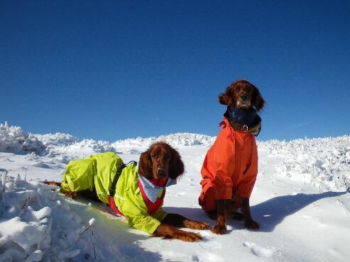 今季初の雪山 2009.12.08 10