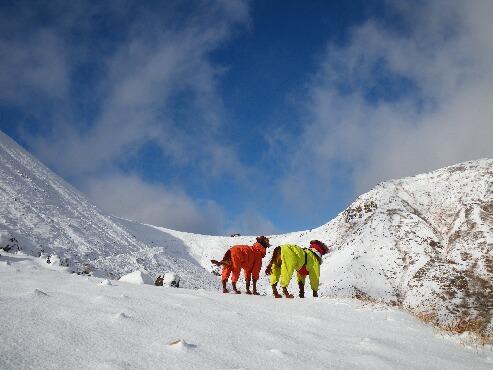 今季初の雪山 2009.12.08 11