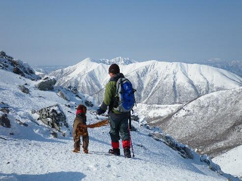 男二人(登山)2