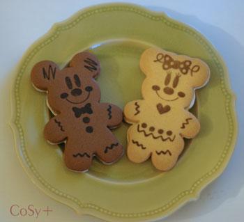ミッキー&ミニークッキー