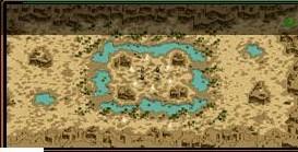 デフヒルズ/砂漠の遺跡 MAP