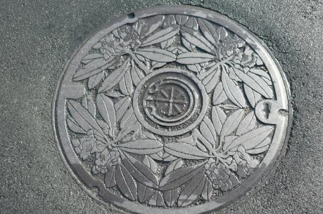 米沢市 マンホール