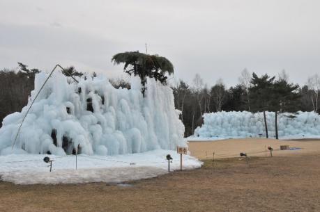 西湖 樹氷まつり