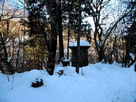 山中湖 水場