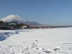 山中湖結氷