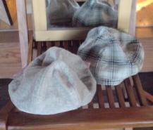 丸っこい帽子