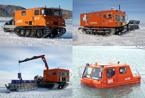 南極観測隊 雪上車