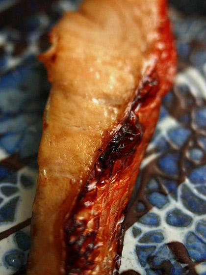 和定食1:金目鯛の味噌漬け