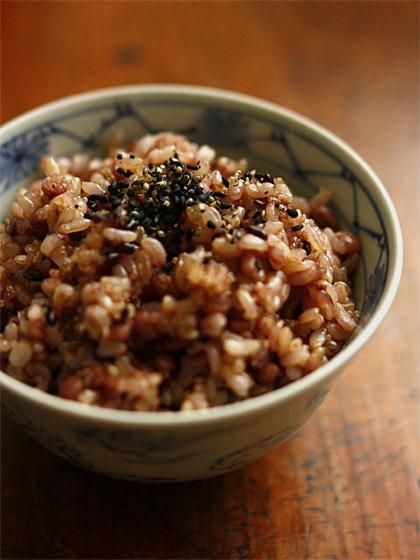 和定食1:玄米雑穀ご飯