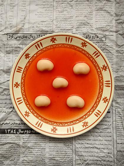 白花豆のトマトスープ(全景)