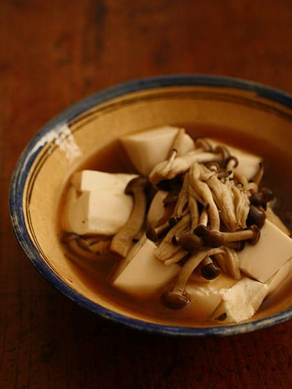 すき焼き風しめじ豆腐(トップ)