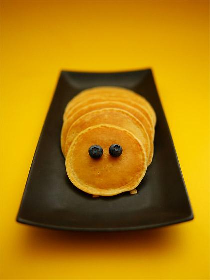 パンケーキ(はらぺこあおむし)