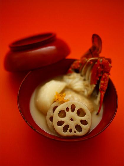 酒粕入りの白味噌雑煮(トップ)
