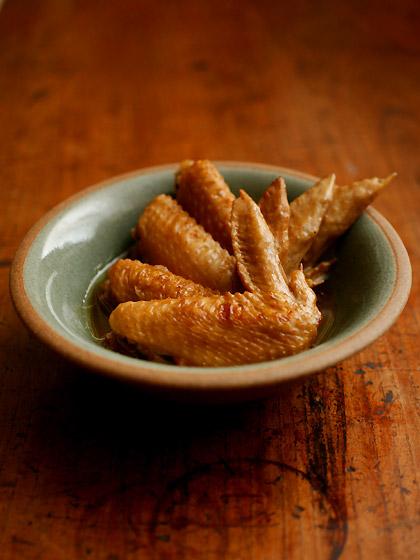 手羽先の醤油煮(五香粉風味):トップ