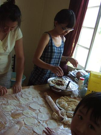 Making Dumplings!