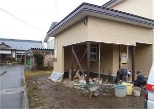 101210車庫塗装完了