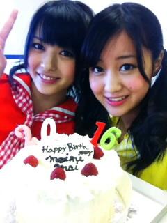 ちょっと早い誕生日ケーキ
